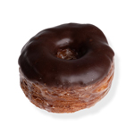 An image of our Chocolate Face DoughCro donut - Pinkbox Doughnuts®
