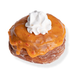 An image of our Orange Face DoughCro donut - Pinkbox Doughnuts®