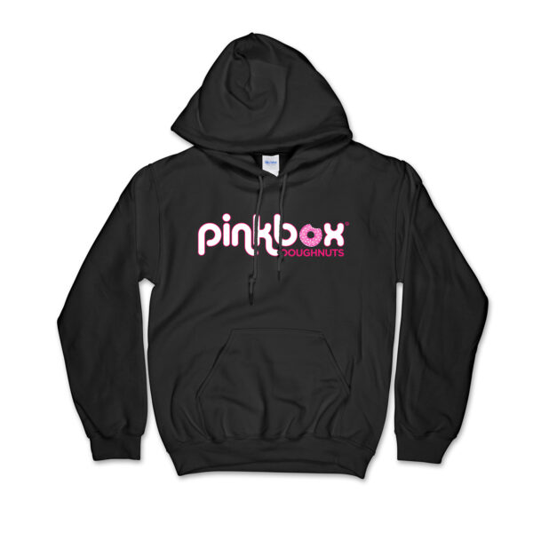 Black hoodie - Pinkbox Doughnuts® Apparel Las Vegas