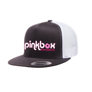 Black trucker hat - Pinkbox Doughnuts® Apparel Las Vegas
