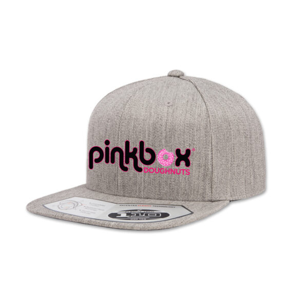 Heather grey baseball cap - Pinkbox Doughnuts® Apparel Las Vegas