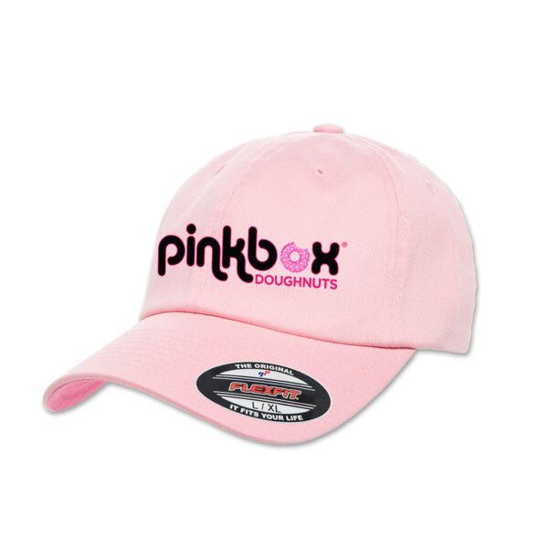 Pink fitted baseball cap - Pinkbox Doughnuts® Apparel Las Vegas
