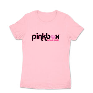 Women's pink T-shirt - Pinkbox Doughnuts® Apparel Las Vegas