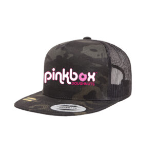 Dark camo trucker hat - Pinkbox Doughnuts® Apparel Las Vegas