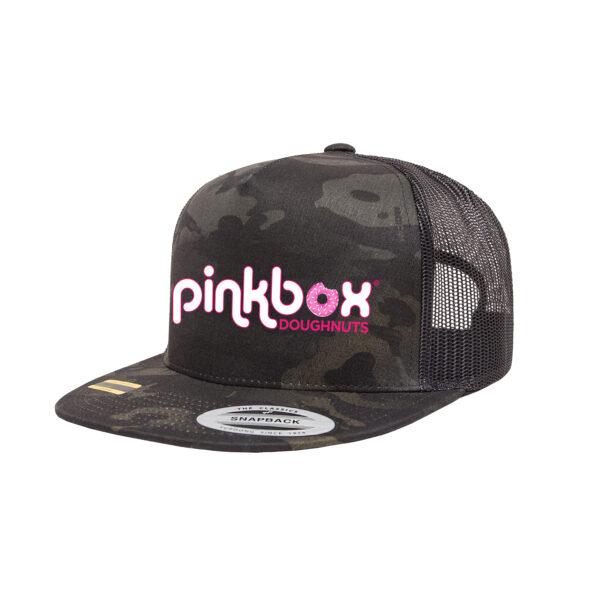 Dark camo trucker hat - Pinkbox Doughnuts® Apparel Las Vegas